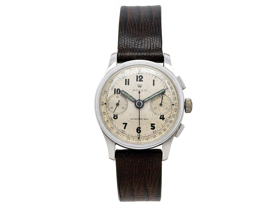 Gentleman's Stainless Steel Antimagnetic Wristwatch, Rolex, circa 1934 at Dupuis Auctions