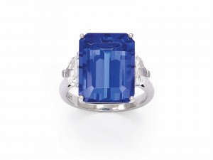 Lot 332 from the recent Dupuis auction (dupuis.ca) is a 12 carat tanzanite that exhibits fine colour.
