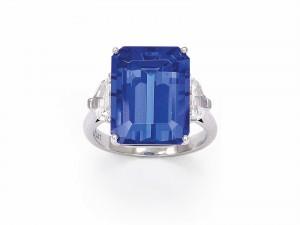 Lot 332 from the recent Dupuis auction (dupuis.ca) is a 12 carat tanzanite that exhibits fine colour.