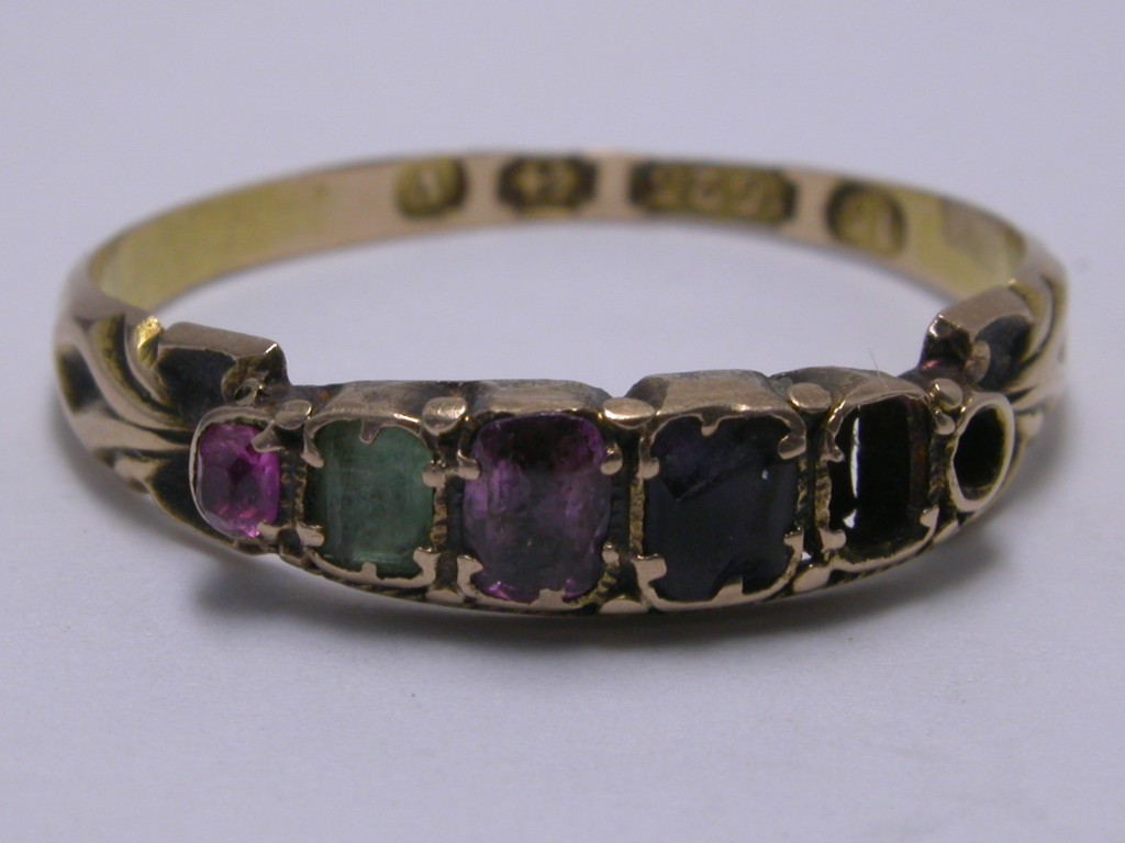 Ring REGARD Victorian