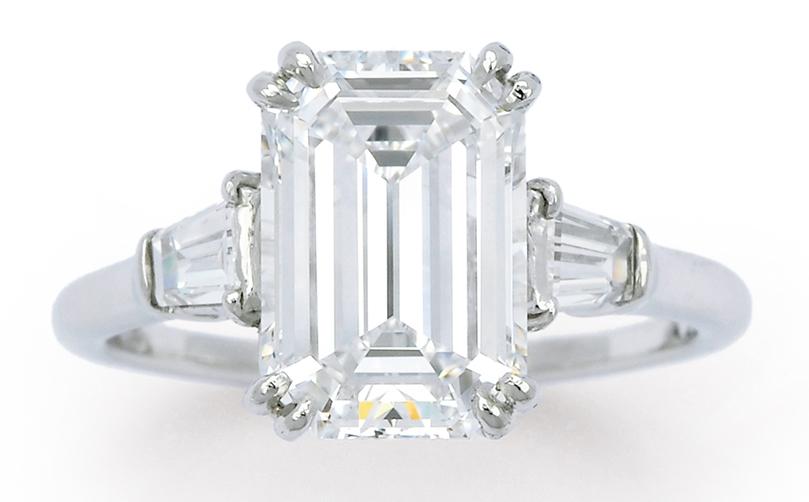 Internally flawless D colour, 3.15 carat